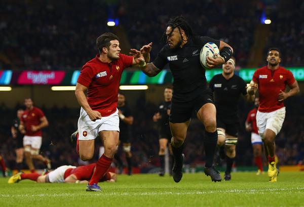 Nueva Zelanda y Francia en Copa del Mundo de Rugby 2015. Foto: zimbio