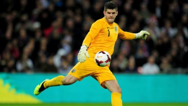Foster en un partido con la selección inglesa. Foto: The FA
