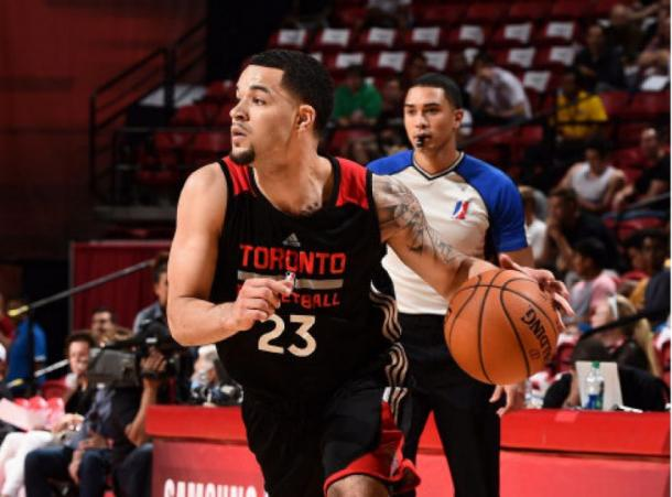 Fred VanVleet out of Wichita State University brings added depth to the Raptors balanced backcourt. Photo: Garrett Ellwood/NBAE via Getty Images