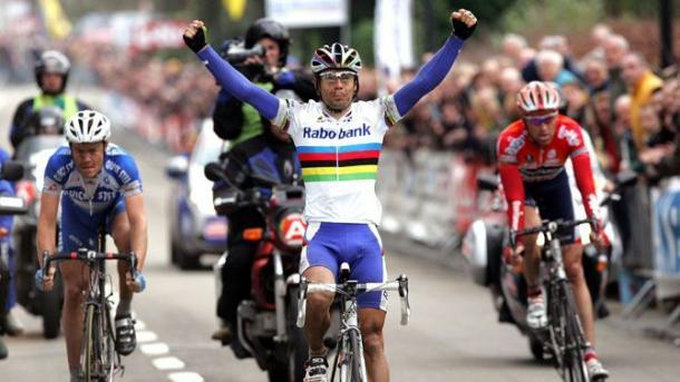 Oscar Freire, el único español en vencer en la clásica belga | Foto: Flecha Brabanzona