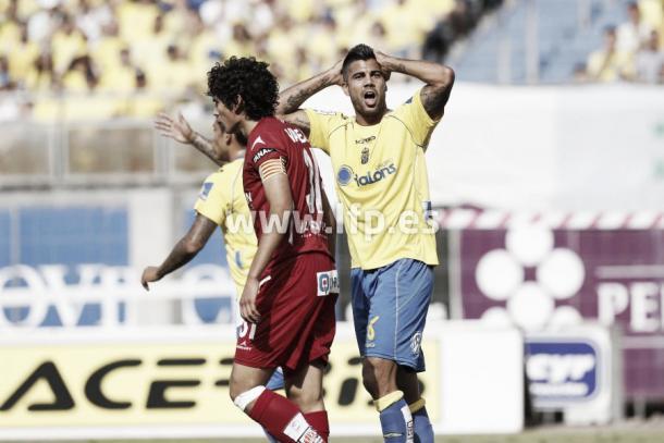 Vallejo, capitán del Real Zaragoza en aquel partido | Foto: LaLiga