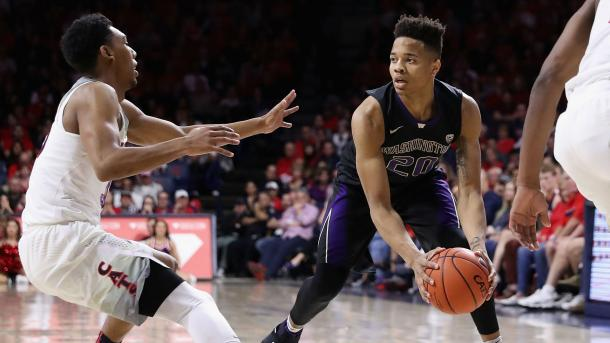 Fultz looking for his teammates and showing off his unselfishness. Photo: Getty Images