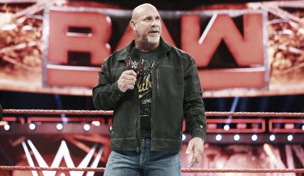 Will Goldberg shock the WWE again? Photo- WWE.com