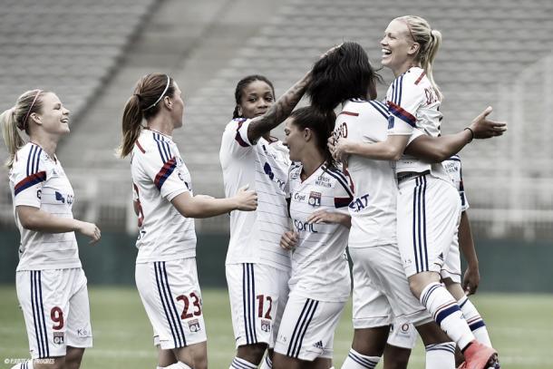 OL celebrate. | Image source: UEFA