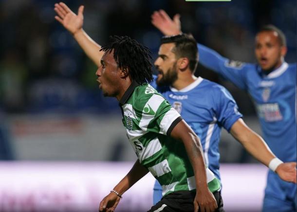 Gelson voltou a marcar com a camisola do Sporting, mas não foi suficiente