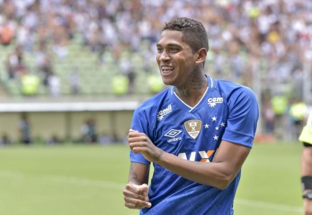 Raniel marcou o gol da vitória contra o maior rival na fase de grupos (Foto: Washington Alves / Light Press)