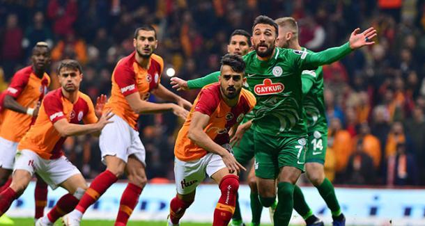 Galatasaray vs Rizespor / Fuente: Twitter Galatasaray