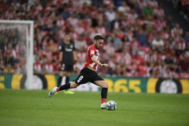 Unai López ha experimentado un notable crecimiento esta temporada   Foto: Athletic Club