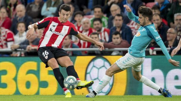 Mikel Vesga   Foto: Web oficial del Athletic Club