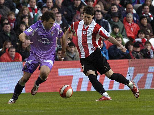 Aduriz en su segunda etapa en Bilbao | Foto: Web oficial del Athletic Club
