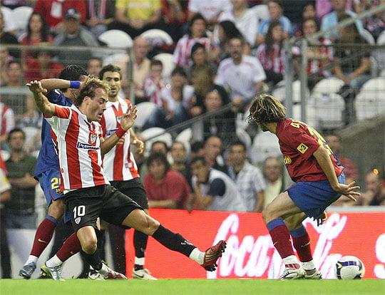 Fran Yeste, uno de los jugadores que estuvo aquél en un partido frente al Barcelona. | Foto: Athletic.