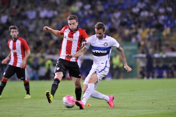 El Athletic cayó en el amistoso ante el Internazionale | Foto: Athletic.