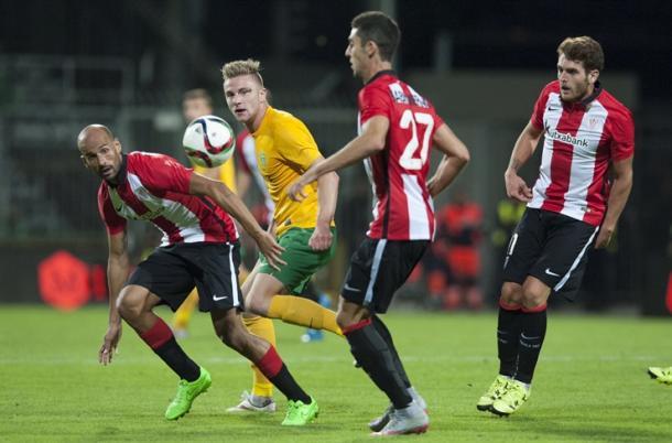 El Zilina remontó al Athletic en la ida europea | Foto: Athletic.