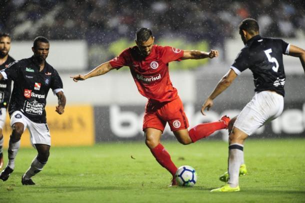 Internacional vence Cianorte e fica perto das oitavas da Copa do Brasil