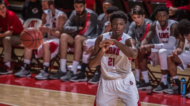 Taylor was the top freshman in the conference and hopes to lead Austin Peay to their first OVC championship in five years/Photo: Austin Peay athletics website