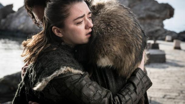 Arya Stark y Jon Snow, dos de los grandes protagonistas / Foto: IMDb.com
