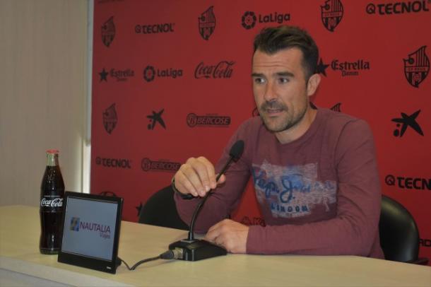 Aritz López Garai en rueda de prensa | CF Reus