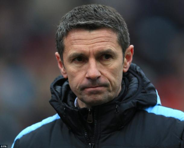 Garde was in a despondent mood on Saturday (photo: PA)