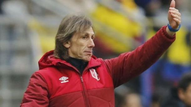 Head coach Ricardo Gareca is in charge since january 2015. Source: elcomercio.pe
