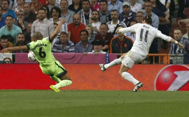 Bale's shot deflected from Fernando sends Madrid to 14th UCL final. Photo: AS