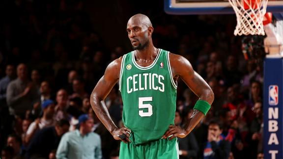 Garnett jugando para Boston