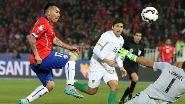 Bolivia was thrashed 5-0 the last time they faced Chile, which was the 2015 Copa America. Photo provided by AP.