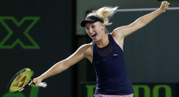 Daria Gavrilova has been well embraced by her new homeland (Source: Tennis.com)