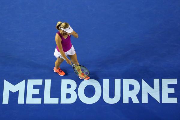 Daria Gavrilova se lamenta tras perder un punto | Foto: zimbio.com