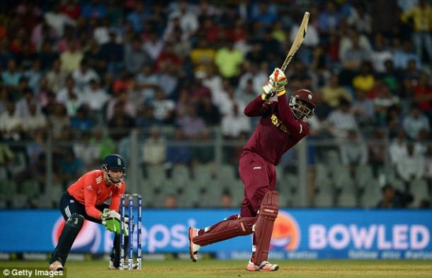 Gayle took England to the cleaners (photo: Getty Images)