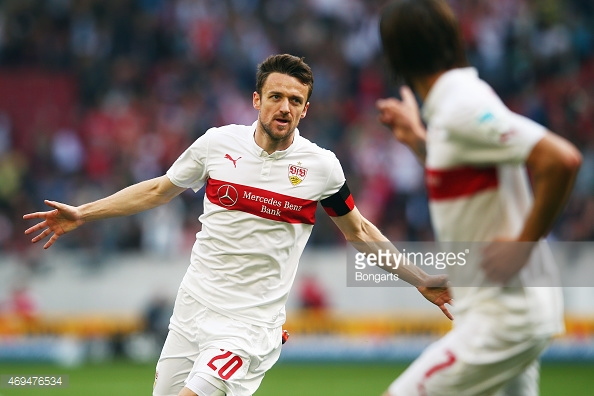 Gentner has been in fine goalscoring form this season, netting three goals in five games in the league. (Photo: Getty Images)