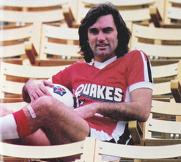 George Best is the most high-profile to ever player for the Earthquakes. | Photo: WhoAteAllThePies