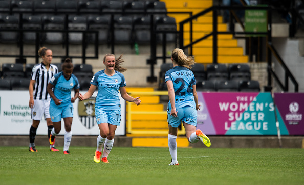 Georgia Stanway has been in excellent form for Man City | Photo: Getty.