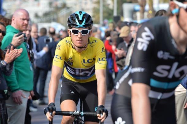 Thomas ganó la París-Niza la temporada pasada | Foto: ASO