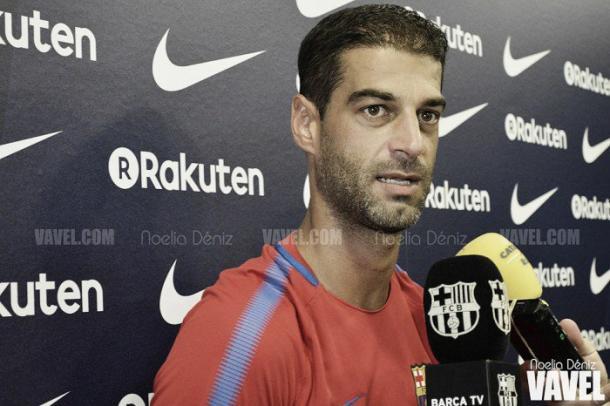 Gerard López, ante su tercera temporada al frente del filial | Foto: Noelia Déniz - VAVEL