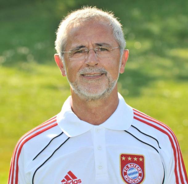 Gerd Müller en su etapa como asistente del Bayern |Fuente: FC Bayern