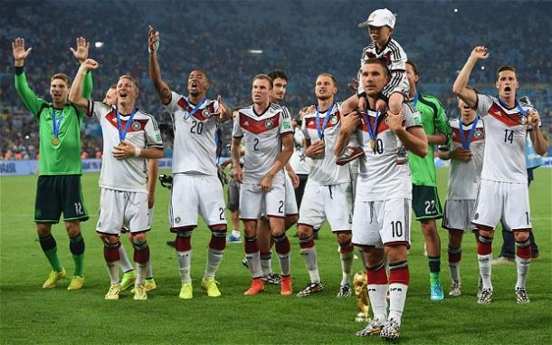 World Champions Germany lie in wait for the Northern Irish | Photo: Telegraph