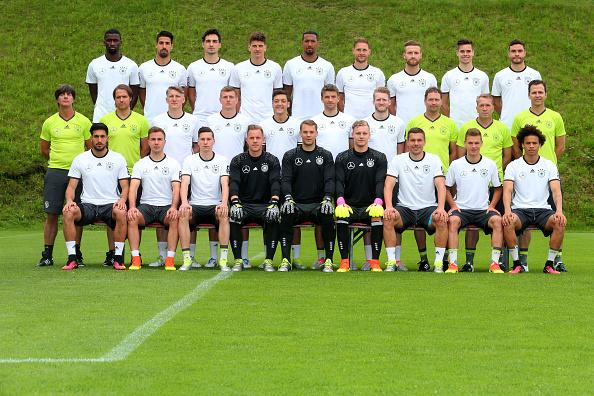 Foto oficial de la selección alemana. // Foto: Getty Images