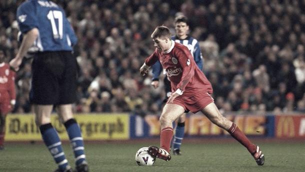Los comienzos de Steven Gerrard./ Foto: Premier League