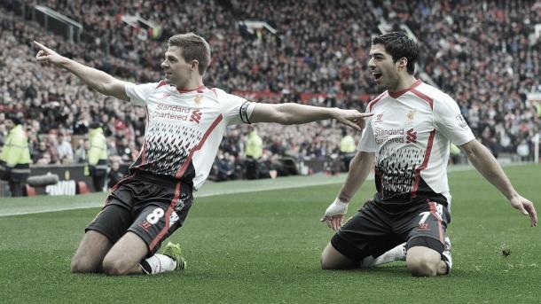 Gerrard y Luis Suárez devuelve la ilusión a Anfield./ Foto: Premier League
