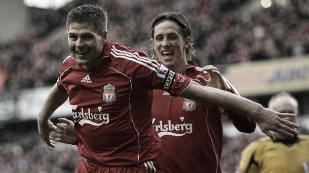 Steven Gerrard y Fernando Torres./ Foto: Premier League