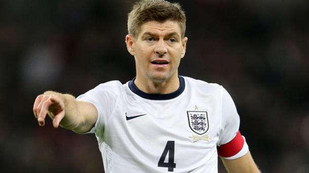 Gerrard fue internacional en 114 ocasiones. Foto: The FA