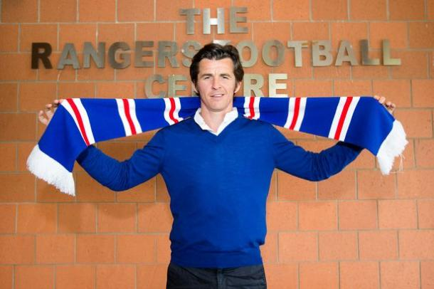 Barton was all smiles upon signing | Photo: rangersfc.co.uk