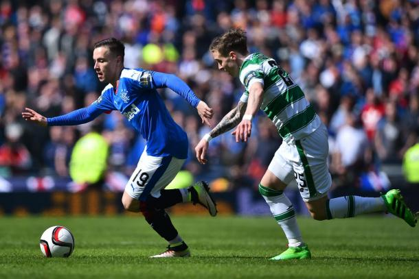 McKay in action against Celtic | Photo: Squawka.com