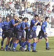 Getafe CF en la 2003-04. Fuente: Getafe CF