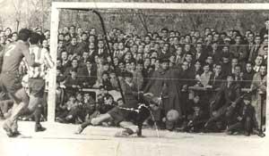 Inicios del fútbol en Getafe. Fuente:Getafe CF