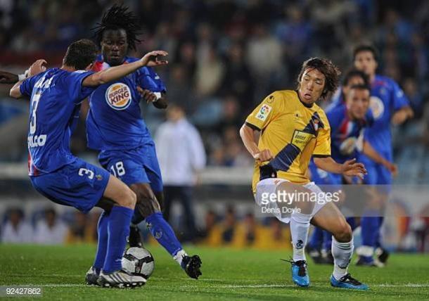 Partido Getafe vs Espanyol de Copa del Rey en la temporada 2009/10 Fuente: Getty