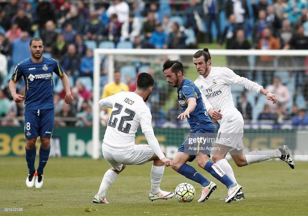 Pablo Sarabia ante el Real Madrid en Liga | Fuente: gettyimages