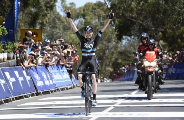 Froome sigue demostrando ser el ciclista más fuerte del pelotón.| Fuente: Getty