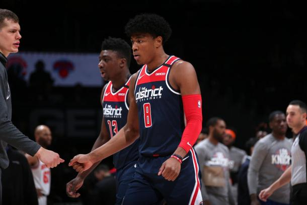 Rui Hachimura. Fuente: Washington Wizards