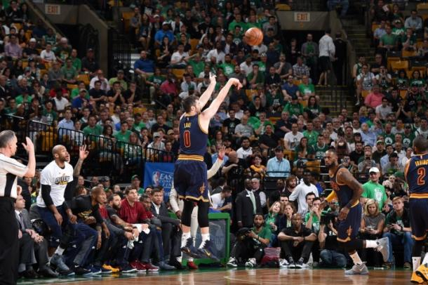 Kevin Love. Brian Babineau/NBAE via Getty Images